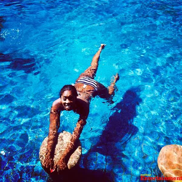 SEXY PHOTO: Tiwa Savage Shows Off Hot Bikini Body | GENIUS